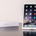 Geradezu riesig: Mit 12,9 Zoll messendem Bildschirm ist das iPad Pro das mit Abstand größte iPad-Modell von Apple. Dennoch ...