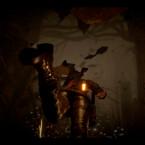 Lara kann nun auch tauchen und Feinde unter Wasser ziehen.