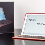 Leider ermöglicht die Tastatur nur einen, dazu noch sehr steilen Anstellwinkel.