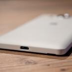 An der Unterseite weist das Microsoft Lumia 950 bereits einen USB Type C-Port auf.