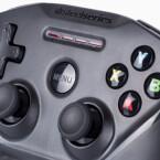 Hier passt fast alles: Der SteelSeries Nimbus-Controller überzeugt uns im Test dank seiner ...