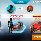 Vor den Duellen könnt ihr zwischen verschiedenen Fahrzeugen wählen.
