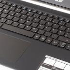 Das Trackpad versteht sich auf Multitouch-Eingaben.