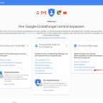 """Habt ihr die URL richtig eingegeben, öffnet sich die Google-Einstellungen-Seite. Im rechten Bereich findet ihr den Punkt """"Kontoeinstellungen"""". Darunter seht ihr in der Aufzählung den Punkt """"Konto oder Dienste löschen"""". Klickt diesen Punkt an."""