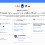 """Ihr kommt auf die Einstellungsseite für eurer Google Konto. Unter """"Anmeldung & Sicherheit"""" klickt ihr auf """"Anmeldung bei Google""""."""