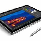 Der Laptop ist wandelbar. So lässt sich das Microsoft Surface Book etwa in einen Tablet-PC verwandeln.
