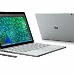 Wie von der Surface-Serie gewohnt, setzt Microsoft auch beim Surface Book auf ein hochwertiges Design.