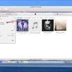 """Um eine MP3-Datei aus der Musiksammlung eures Computers in die Mediathek zu laden, klickt ihr im iTunes-Menü auf """"Datei"""" und anschließend auf """"Datei zur Mediathek hinzufügen …""""."""