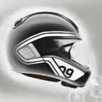Noch handelt es sich um einen Prototypen. Doch BMW will den Helm in den kommenden Jahren zur Serienreife bringen.
