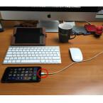 Schließt euer iPhone per Lightning-Kabel an einen USB-Anschluss eures Mac's an.