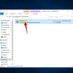 """Startet die heruntergeladene EXE-Datei mit einem Doppelklick. Ihr findet die Datei nach dem Download in der Regel im gleichnamigen Ordner """"Downloads""""."""