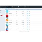 Über die Freeware Syncios greift ihr auf die Anwendungen zu, die ihr auf eurem iPhone / iPad / iPod touch installiert habt. Habt ihr eine App-Datei auf dem PC liegen, könnt ihr sie auf des iDevice importieren. Herunterladen könnt ihr die Apps allerdings nicht. Lediglich eine Deinstallation auf dem Gerät ist möglich.