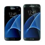 Das Galaxy S7 und das Galaxy S7 Edge im Größenvergleich.