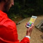 Die Frontkamera des Sony Xperia Z3+ löst nun mit fünf Megapixeln auf. Hochauflösende Selfies sind also für Z3+-Nutzer kein Problem.