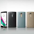 Das LG G4 gibt es mit Ledercover in verschiedenen Farben.