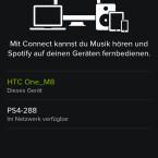 ... im darauffolgenden Bildschirm wählt ihr das PS4-System als Ausgabequelle aus ...