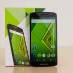 Der Bildschirm des Motorola Moto X Play misst in der Diagonalen 5,5 Zoll.