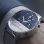 Die neue Huawei Watch ist eine Smartwatch mit Android Wear im Edelstahlgehäuse und rund wie eine Mioto 360.