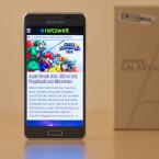 Das Galaxy Alpha läuft mit Android 4.4.4 KitKat. (Bild: netzwelt)
