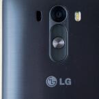 Charakteristisch für das LG G3 sind auch die Tasten auf der Rückseite.