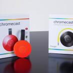 Puck-Streaming: Google hat Chromecast neu gestaltet - Chromecast Audio ist das neue Mitglied der Familie.