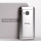 Die Rückseite des HTC One M9 ziert nun eine 20-Megapixel-Kamera.