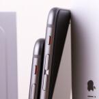 Das iPhone 6 ist deutlich kürzer als das 6 Plus.