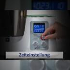 Ein LC-Display ist integriert, eine Timer-Funktion ebenso.