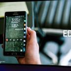 Samsung bezeichnet den Screen des Galaxy Note Edge als Edge Screen. (Bild: netzwelt)