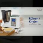 Auch nützlich: Die Küchenmaschine rührt und knetet - nur eine Backfunktion besitzt sie nicht.