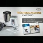 Das Gerät der Marke Studio erinnert an den TM5 von Thermomix und vereint viele Funktionen in einer Maschine.