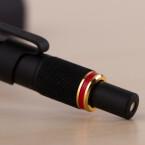 Der rote Ring, das Markenzeichen des Unternehmens.