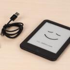 Im Lieferumfang: der Tolino Shine 2HD und ein Micro-USB-Kabel.