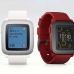 In drei Farben gibt es die Pebble Time zu kaufen.