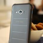 Die Xcover-Taste an der rechten Seite des Galaxy Xcover 3 kann frei belegt werden.
