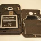 Das Galaxy Xcover 3 ist nach IP67 gegen Staub und Wasser geschützt.