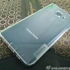 Das Galaxy Note 5 bietet offenbar einen Glasrücken.