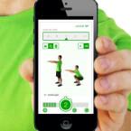 Dahinter folgt 7 Min Workout, eine Fitness-Minianwendung.