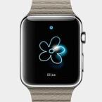 Auf dem Bildschirm der Apple Watch kann man zeichnen.