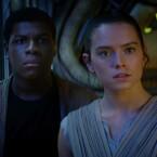 Das neue Starduo in Star Wars: Finn und Rey.