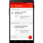 Über Gmail und Pony Express Rechnungen bezahlen.
