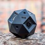Sorgt für Rundumblick: Die Sphericam 2 nimmt Videos in 4K-Qualität auf. Über eingeblendete Pfeile könnt ihr in den Videos den Blickwinkel anschließend selber bestimmen.