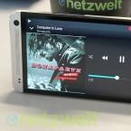 Die zwei Stereolautsprecher auf der Frontseite sorgen für einen hervorragenden Klang. (Bild: netzwelt)