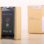 Da ist es: das Galaxy S5 mini. (Bild: netzwelt)