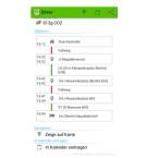 Die Fahrt können Sie in Ihren Kalender eintragen oder sich die Route auf der Karte anzeigen lassen. (Bild: Screenshot / Mobility Map)