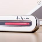 Morpheus Labs Alpha kommt mit einer eigenen Schatulle. Eine Tablet-Halterung ist nicht dabei.