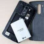 Der Akku des LG G3 beeindruckt im Test durch seine Ausdauer. Bei Bedarf kann der Nutzer ihn auch wechseln.