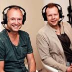 Frank Buschmann (links) und Wolff-Christoph Fuss (rechts) bilden das Kommentatoren-Duo in Fifa 16.