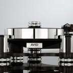 Ja, das ist ein Plattenspieler: Der Acutus ist das Highlight des englischen Audioherstellers Avid und kostet je nach Ausführung zwischen rund 14.000 und 20.000 Euro.
