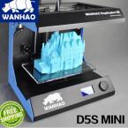 Mit Wanhaos Duplicator 5S Mini 3D-Printer ist Druckplatz mit zwölf Liter Volumen gegeben.